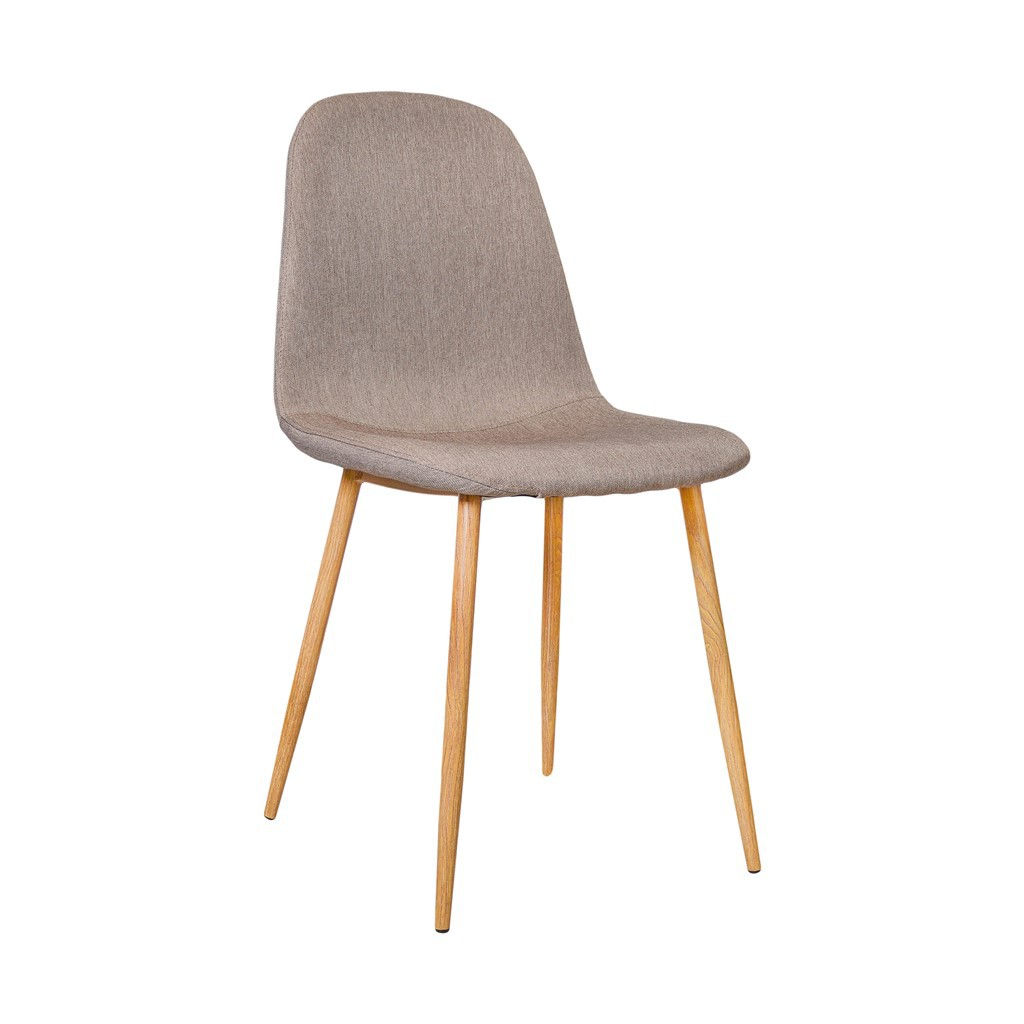 chaise design scandinave metal taupe - homa café boutique